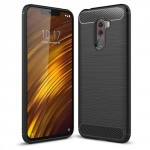 POCO F1 Carbon Protective Case Black