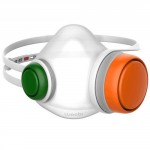Маска-фильтр Woobi Play Children Air Purifying Respirator Mask Orange