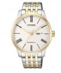 Citizen Automatic Two Tone GOLD STAINLESS STEEL NH8354-58AB Men's Watch