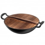 Сковорода чугунная Yi Wu Yi Shi Wok Iron Frying Pan 32 cm
