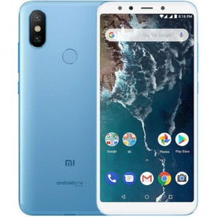 Смартфон Xiaomi Mi A2 High Ed. 6GB/128GB Dual SIM Blue
